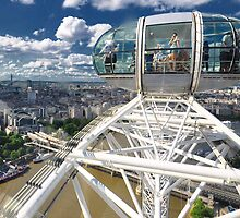 The London Eye by Brendan Buckley