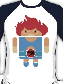 Droidarmy: Thunderdroid Lion-o no text T-Shirt