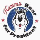 Hamms Bear by superiorgraphix