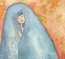 Lighea - Girl with blue veil by vimasi