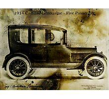 1914 Cadillac Limousine Photographic Print