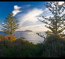 MS Europa, Norfolk Island 2011 by Thomas Huxley