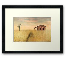 That train don't stop here anymore Framed Print