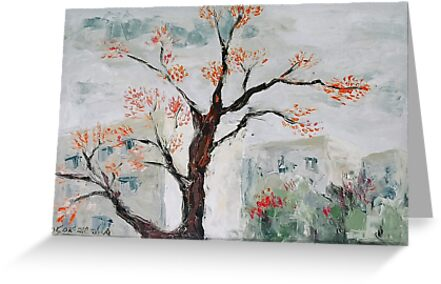 Spring or Autumn?  by Stella  Shube As