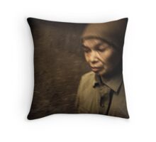 The Glimpse is Fleeting #0101 Throw Pillow