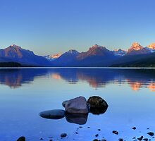 Lake McDonald by Dave Hampton