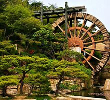 Bomun Mulebanga Water Mill by Barbara  Brown