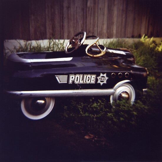 Toy Camera: Police Car by Miyuki Mardon