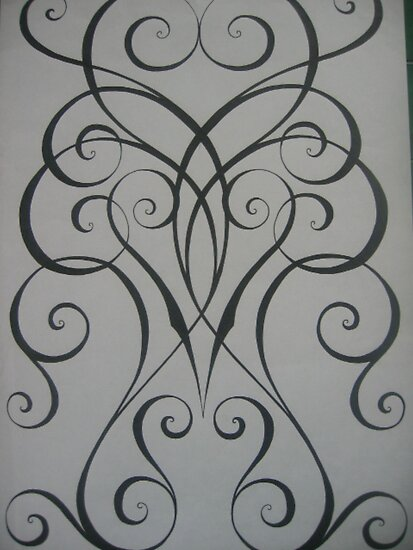 tattoo designs in black and white. Location: Arm As the owner I