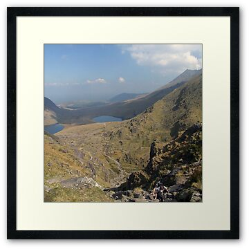 View from the top of the Devils Ladder (Carrauntoohil), County Kerry