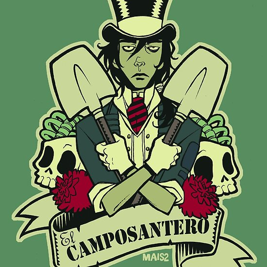 Comic Art: El Camposantero by Mais2
