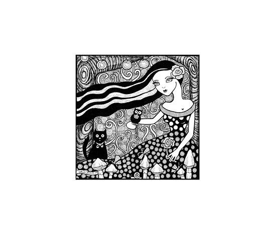 Woodland Daydream by Anita Inverarity