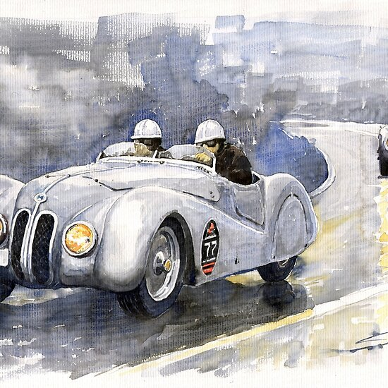 BMW 328 Roadster by Yuriy Shevchuk. Favorite · Report Concern; Share This