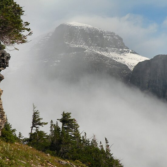 glacier national park montana. Mount Gould - Glacier National