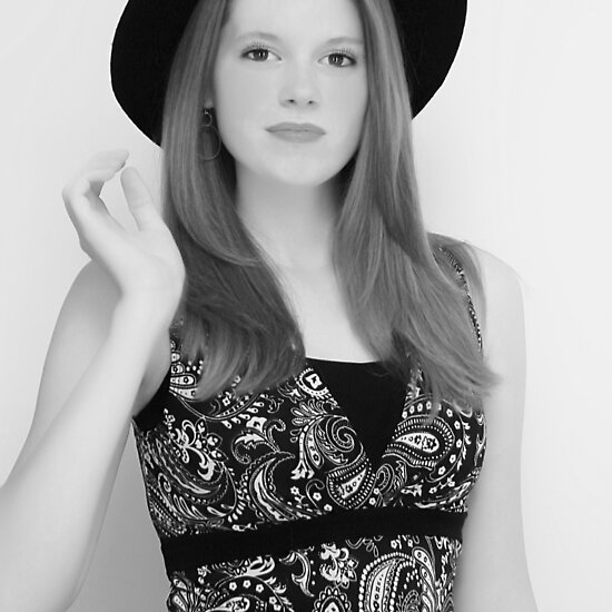 black and white model photos. Model Black White by