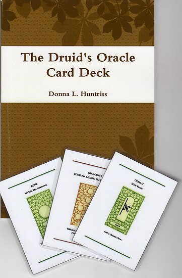 "Druid Oracle Card Deck & Book "" by Donnahuntriss 