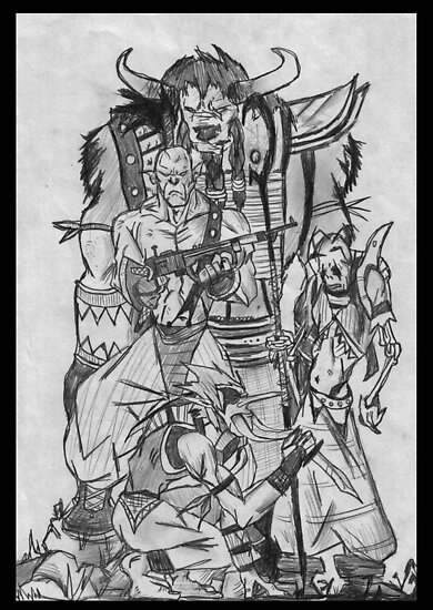 world of warcraft art horde. World of Warcraft - Horde