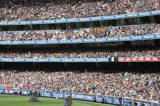 MCG Crowd in Stands