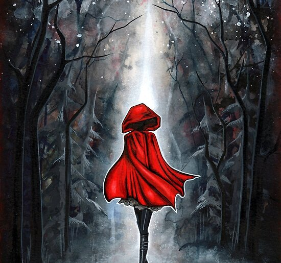 Little Red Riding Hood by Annya Kai Joslow
