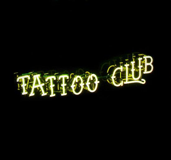 tattoo club. tattoo club