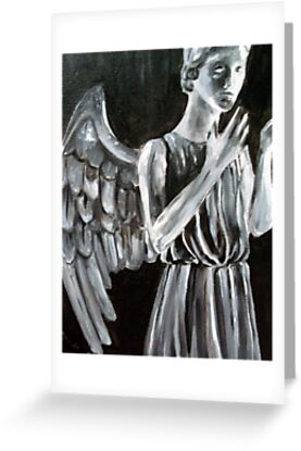 Weeping Angel from Dr Who TV show
