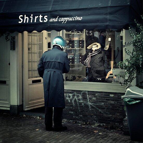 Street Photography: Lost Your Head by Farfarm