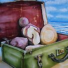 Family Baggage at the Beach by Jack Draper