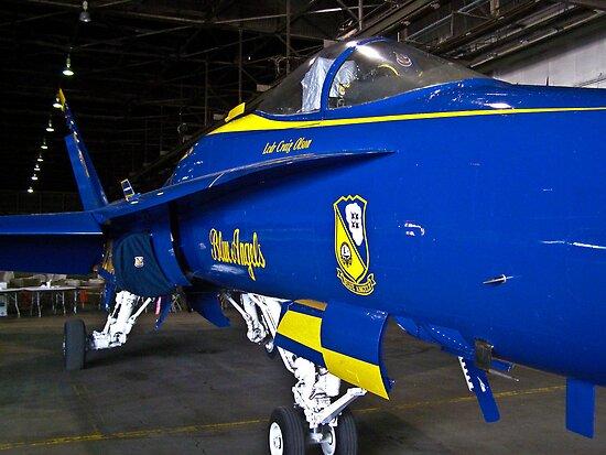 Blue Angel #7 in the hanger
