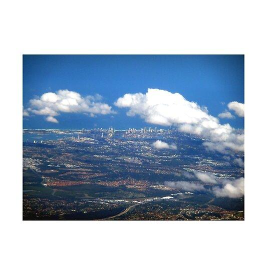 gold coast queensland. aerial of Gold Coast,
