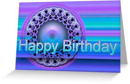 The mandala Happy Birthday card belongs to the following groups: