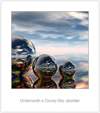 Underneath a Cloudy Sky by plunder