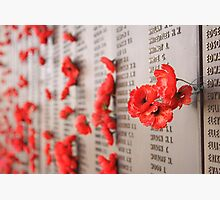 Soldiers Memorial, AWM, Canberra Photographic Print by Stephen Mitchell