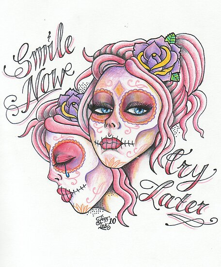 laugh now cry later tattoo designs laugh now cry later tattoo