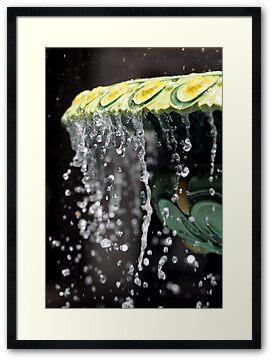 Fountain Splash II by Stephen Mitchell