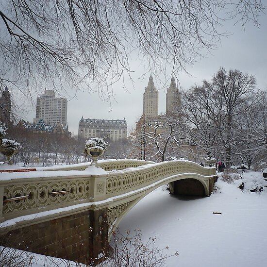 bow bridge in central park nyc. Bow Bridge Central Park in