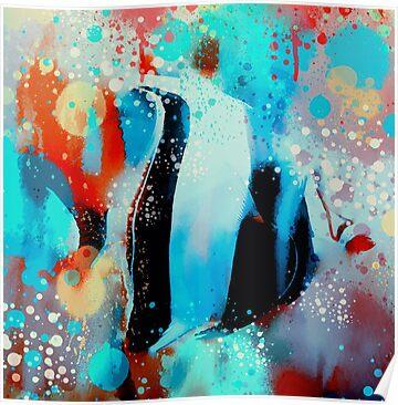 Underwater rainbow by rosalin follow