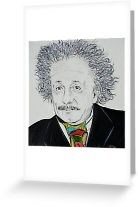 Greeting Card:  Einstein