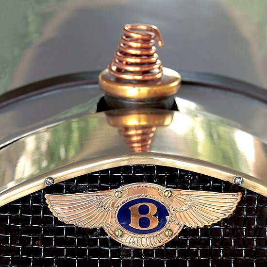 Just An Old Bentley Mascot by