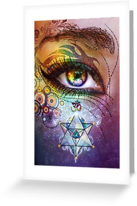 Rainbow Eye by Lilyas