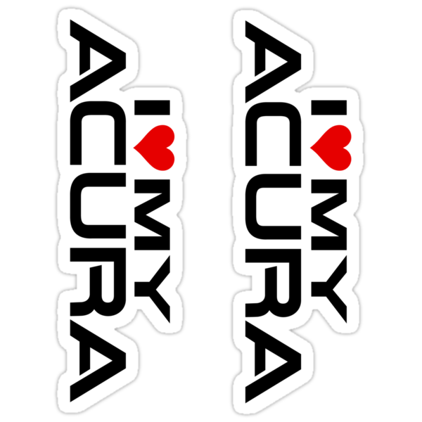 Acura on Work 7429871 1 Sticker 375x360 2 I Love My Acura Stickers V1 Png