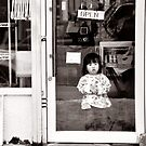 Girl in the Window - Rural Japan by Andy Solo
