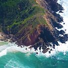 Tip of Cape Byron Aerial by ByronBay-Spirit