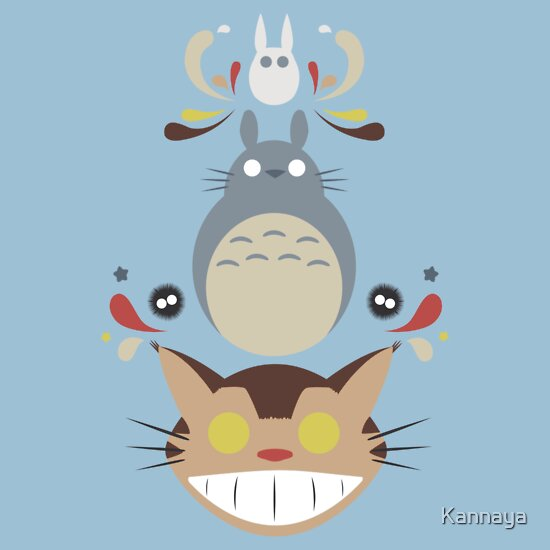 TShirtGifter presents: Totoro and Friends T-Shirt
