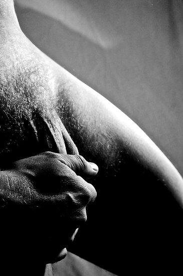 male nude selfportrait