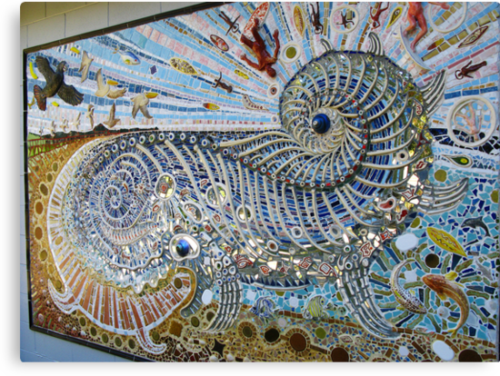 Quot Mosaic Mural By Guy Crosley Quot By Marilyn Harris Redbubble
