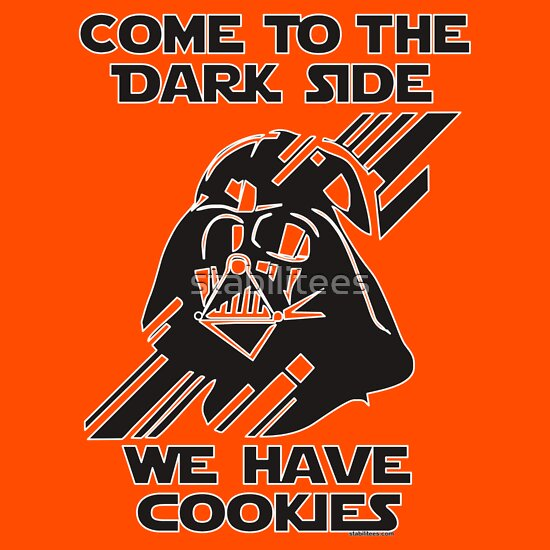 TShirtGifter presents: Come to the Darkside We Have Cookies T-Shirt
