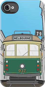 Melbourne Tram IPhone Case