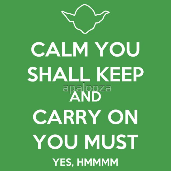 TShirtGifter presents: Calm You Shall Keep T-Shirt