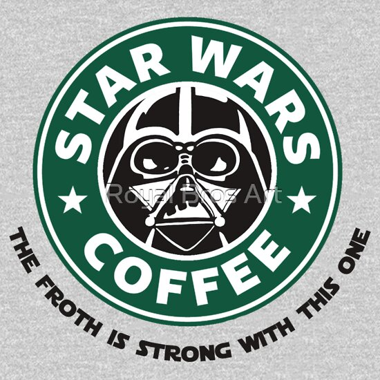TShirtGifter presents: Star Wars Coffee T-Shirt