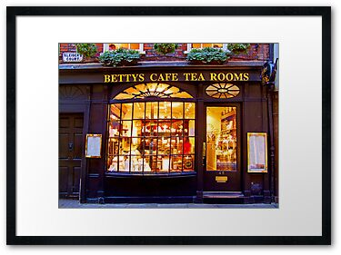 Quot Bettys Tea Room Stonegate York Quot By Colin Williams